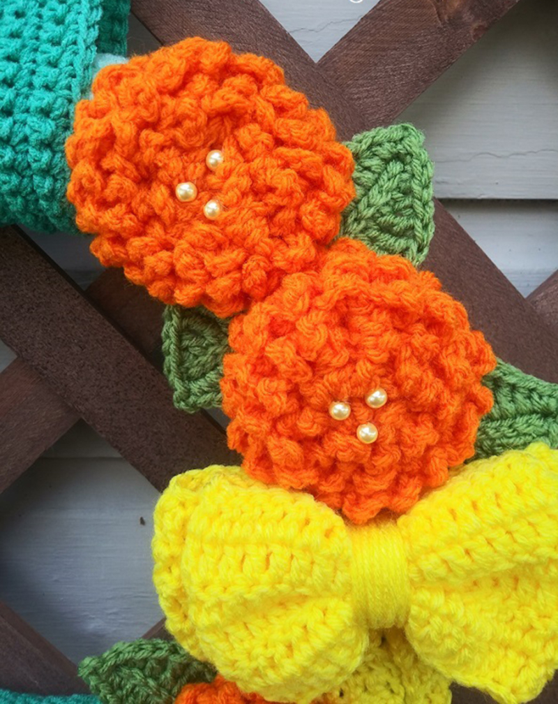 Crochet-flower-and-bow