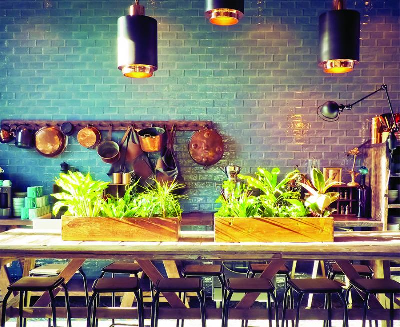 Wooden-plant-troughs