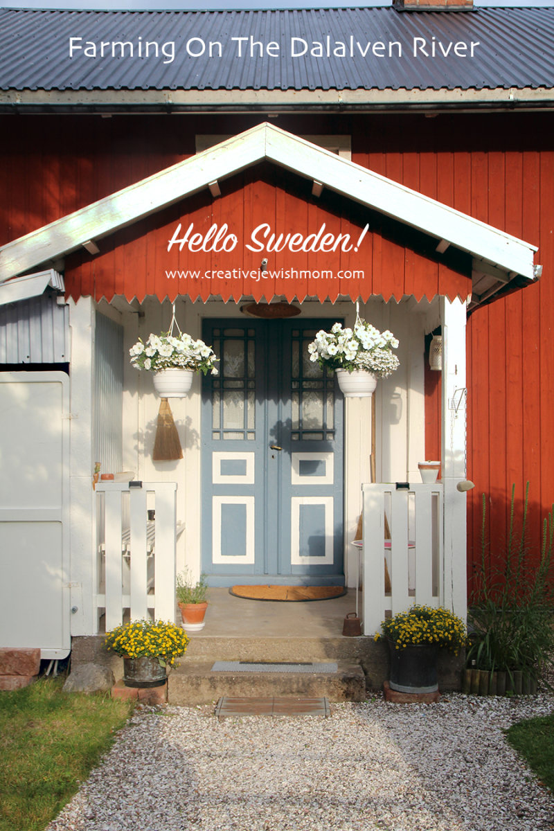 Sweden Dalalvan Farmhouse Entrance