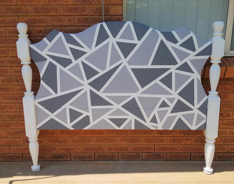 Geometric-Headboard-Makeover