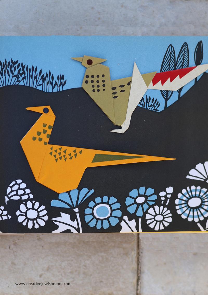 Bird-origami-pheasant