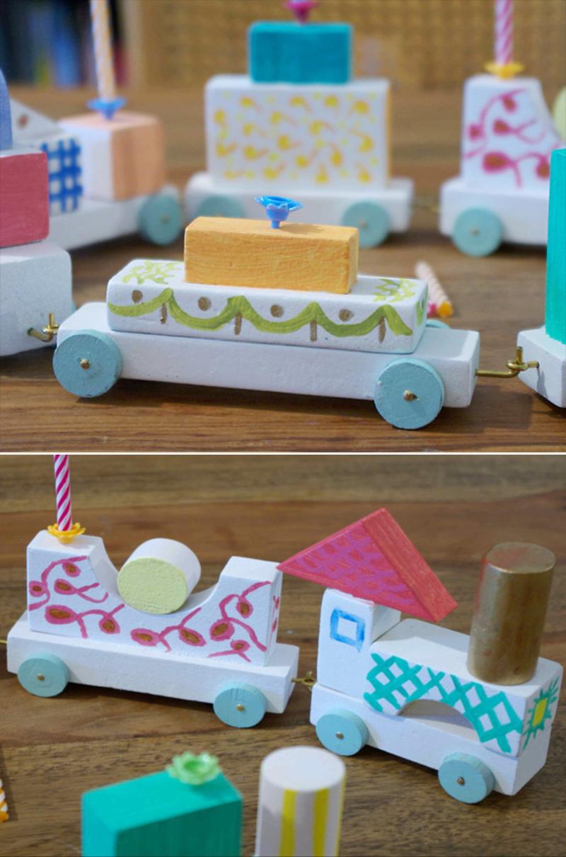 Birthday-train-from-kids-blocks