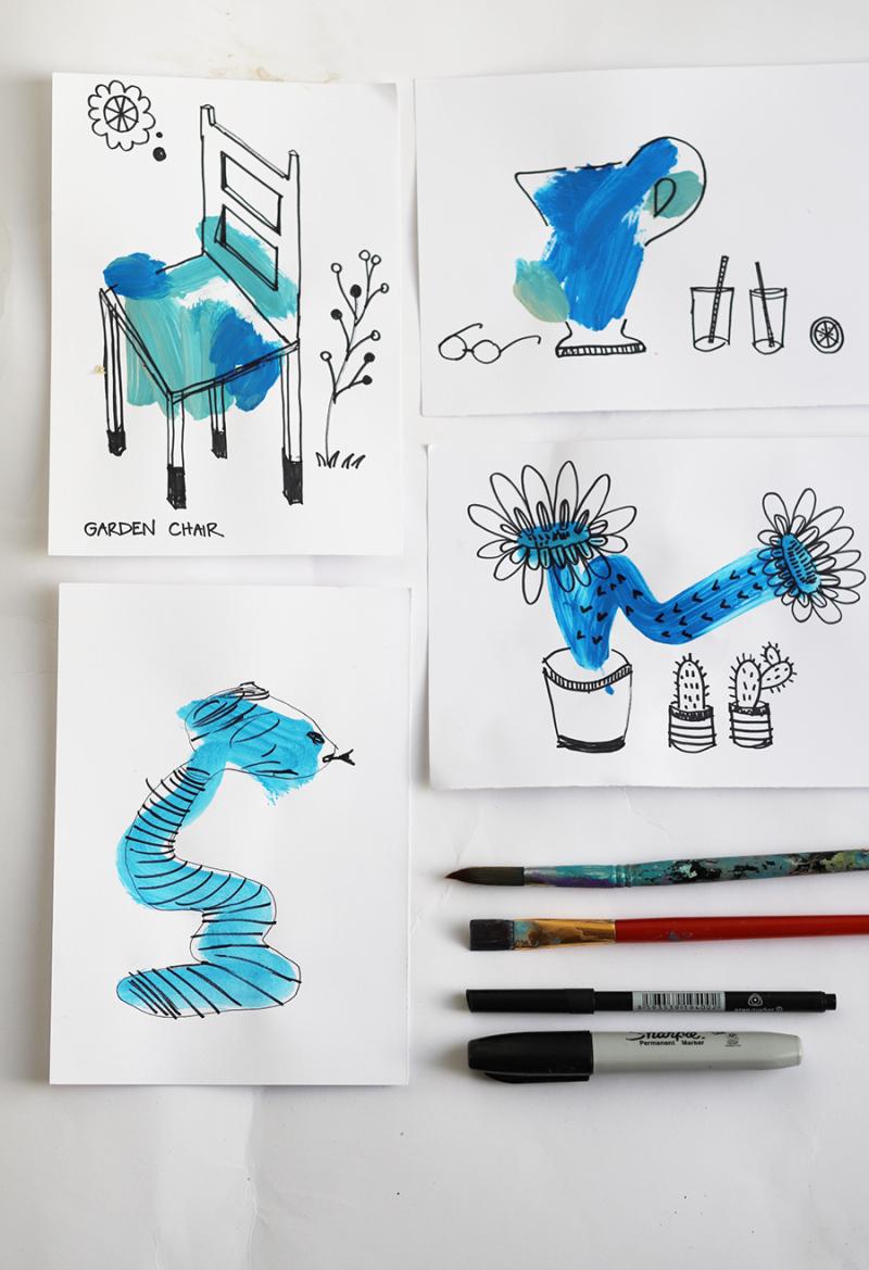 Blob-drawings-kid's-craft