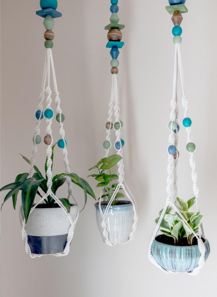 Ikea-macrame-plant-hanger-hack
