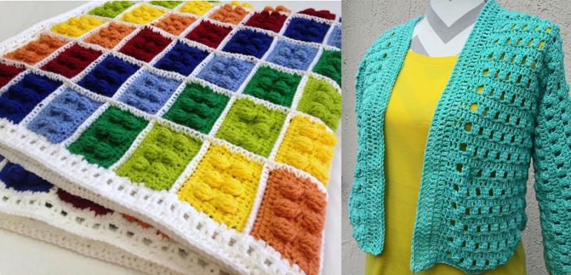 Crocheted-frog-puppet crochet-bunny-doll