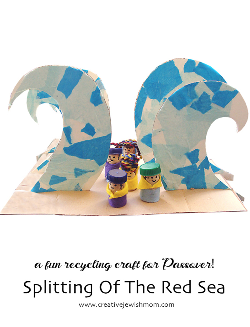 Splitting-of-red-sea-passover-craft