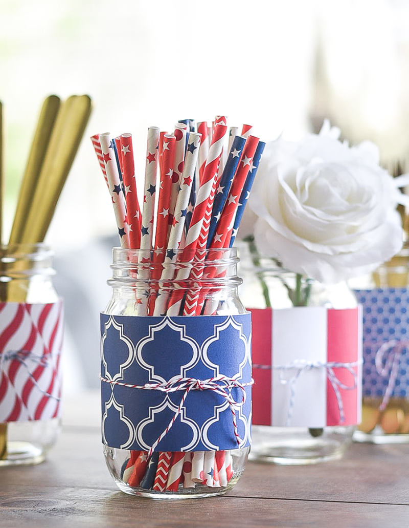 Red-White-Blue-Mason-Jar-Scrapbook-Paper-Decorated-14-of-20