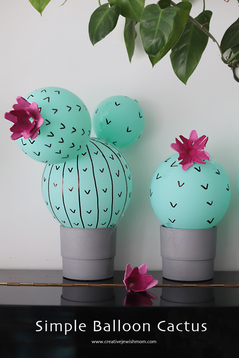 Simple-balloon-cactus