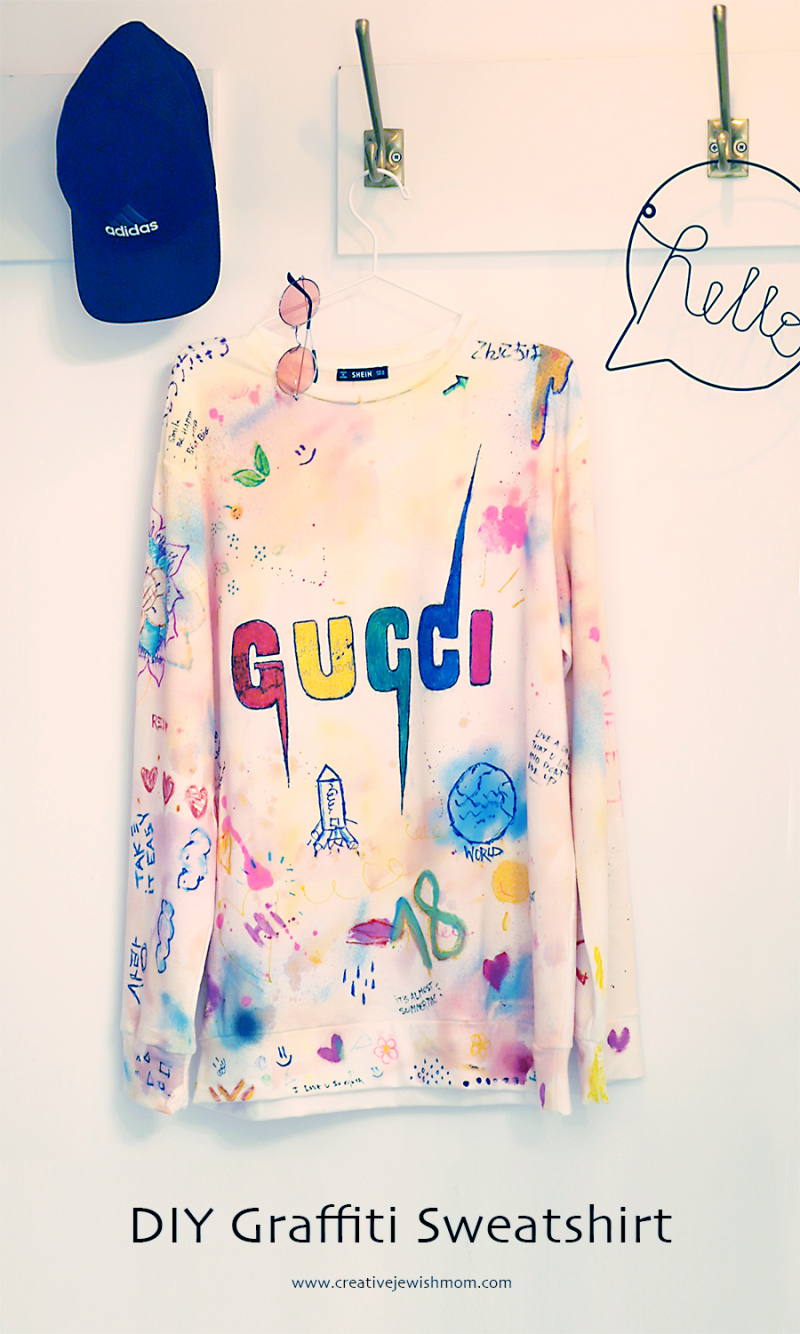 DIY-graffiti-sweatshirt-craft