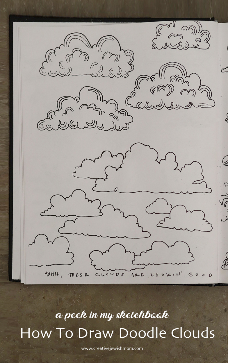 How-to-draw-doodle-clouds