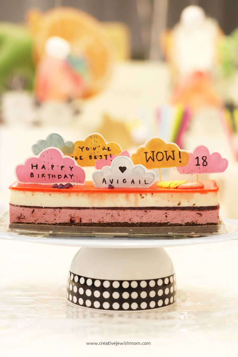 Little-cloud-birthday-cake toppers