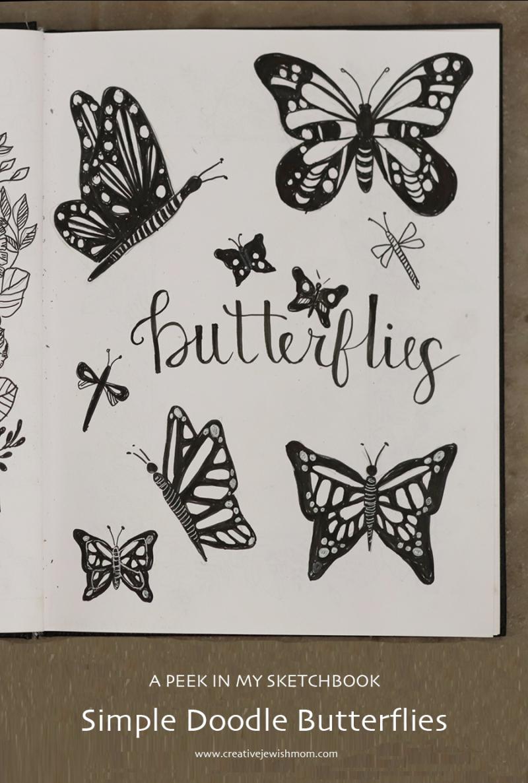 Simple-doodle-butterflies