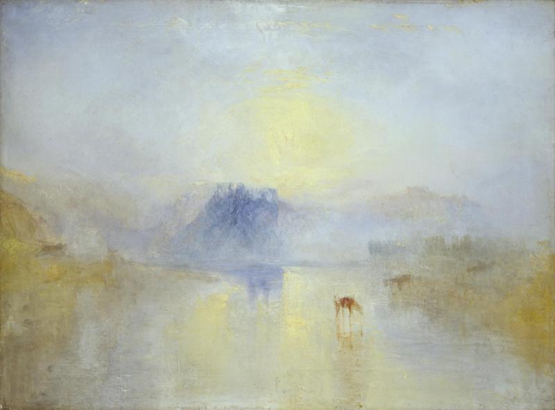 Turner faint painting