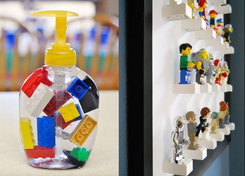 DIY-lego-bird-feeder lego-covered-kitchen-island