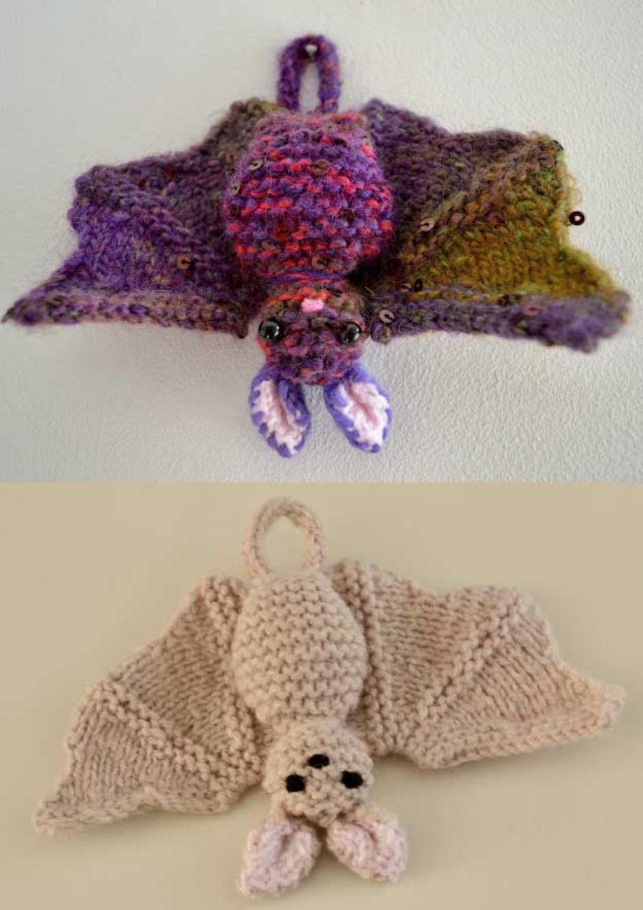 Knit-bat-pattern