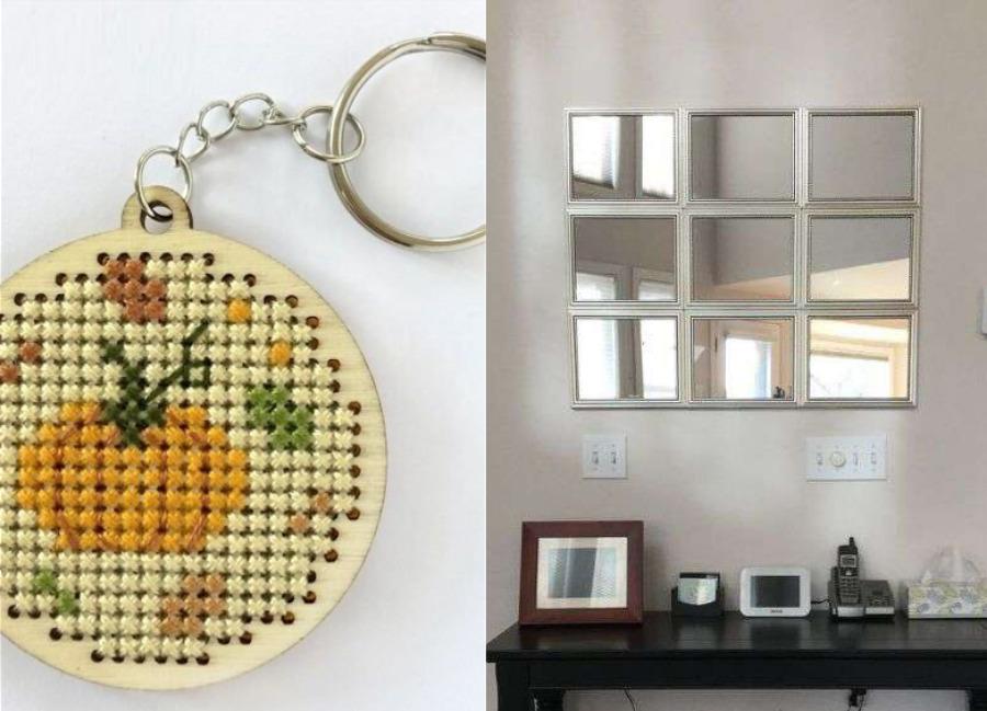 DIY-farmhouse-mirror-hack