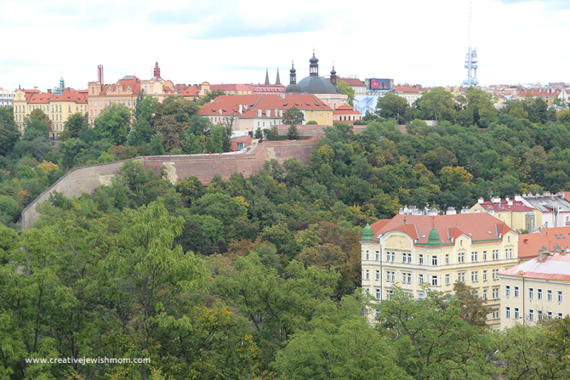Prague-vysrehard-view-of-castle-and-eiffel-tower