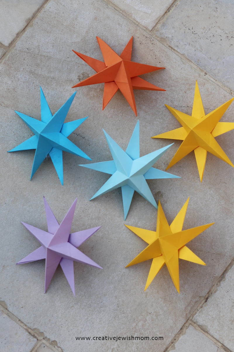 Eight-pointed-paper-stars