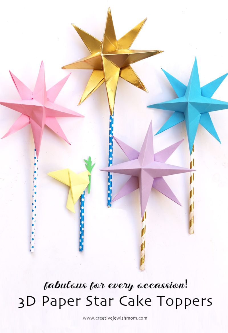 3D-star-cake-toppers-DIY