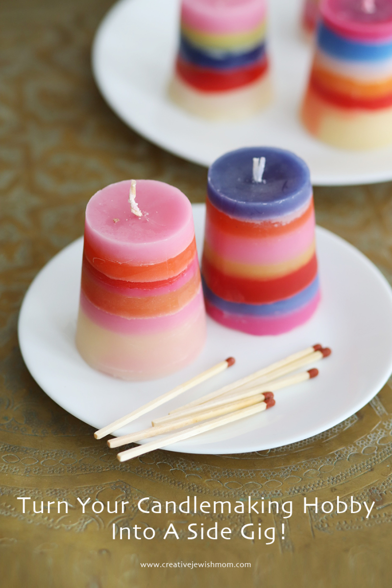 DIY-striped-candles