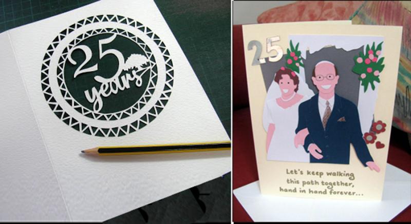 25-year-wedding-anniversary-cut-paper-card