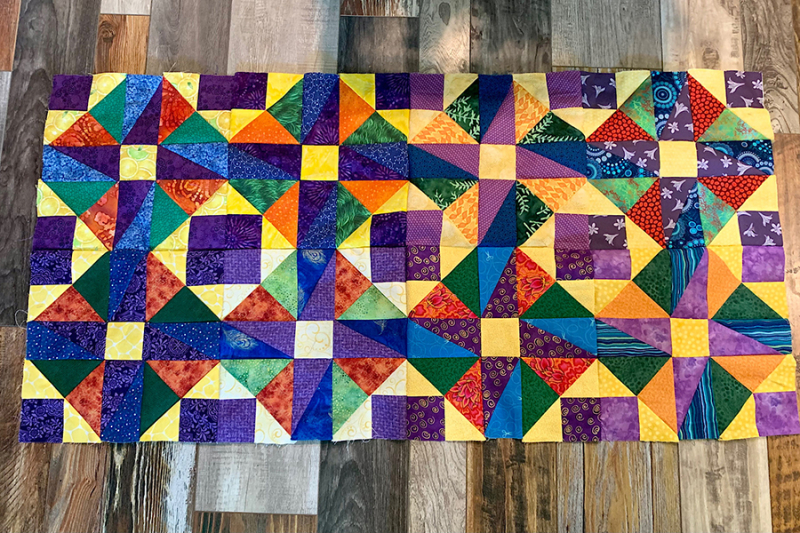 Spin-square-quilt-pieced-in-progress