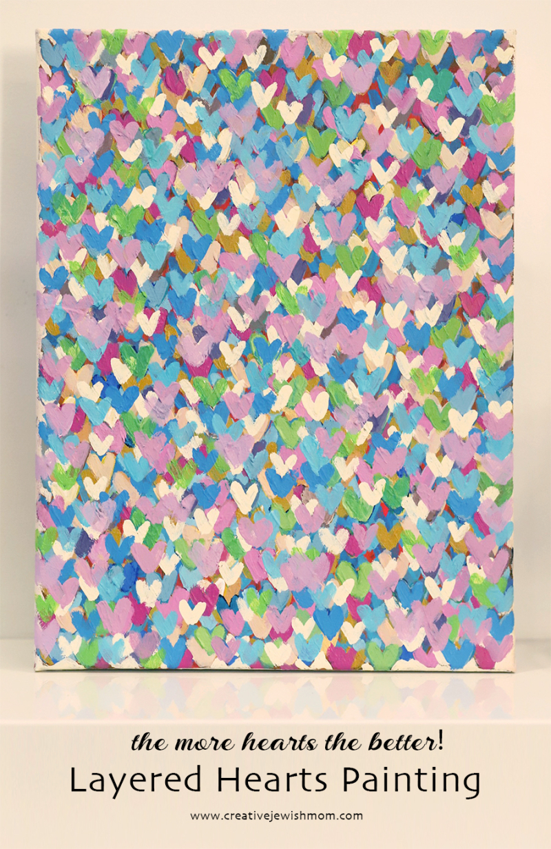 Mini-hearts-painting-pastels