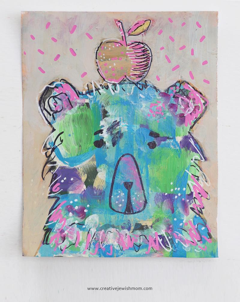 Bear-portrait-whimsical