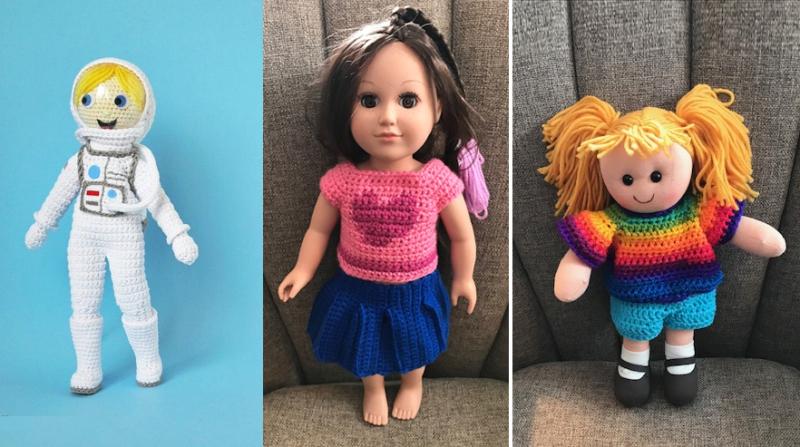 Crocheted-astronaut-girl
