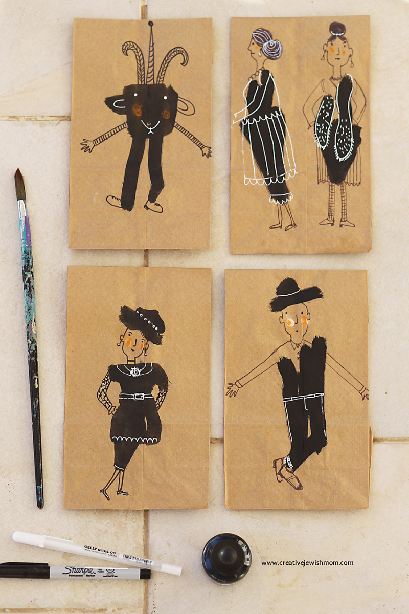 Ink-blob-drawings