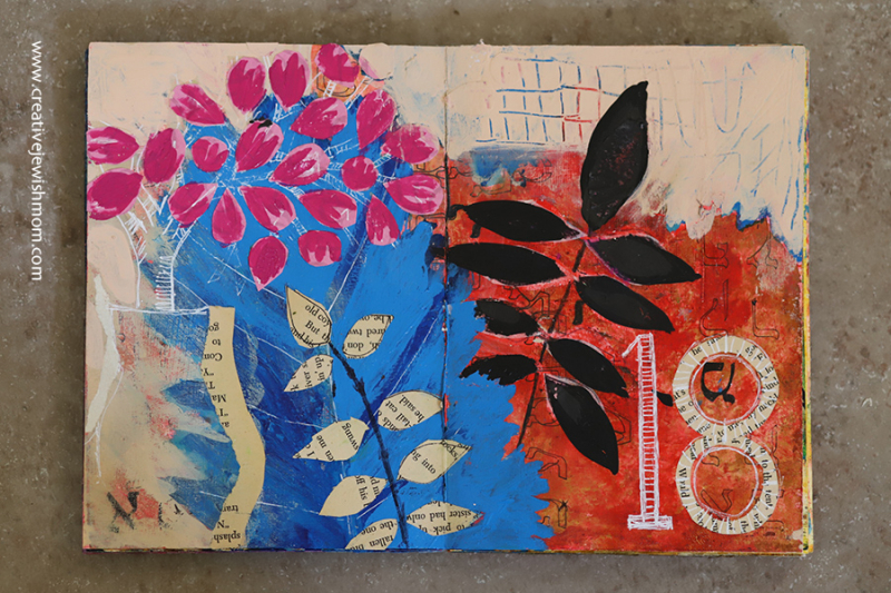 Art-journal-with-collage