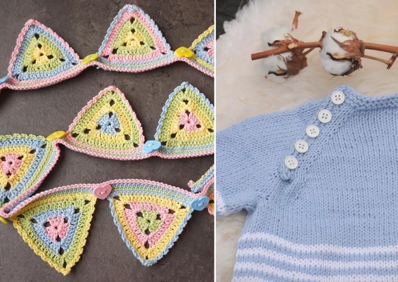 Crochet-triangle-granny-bunting