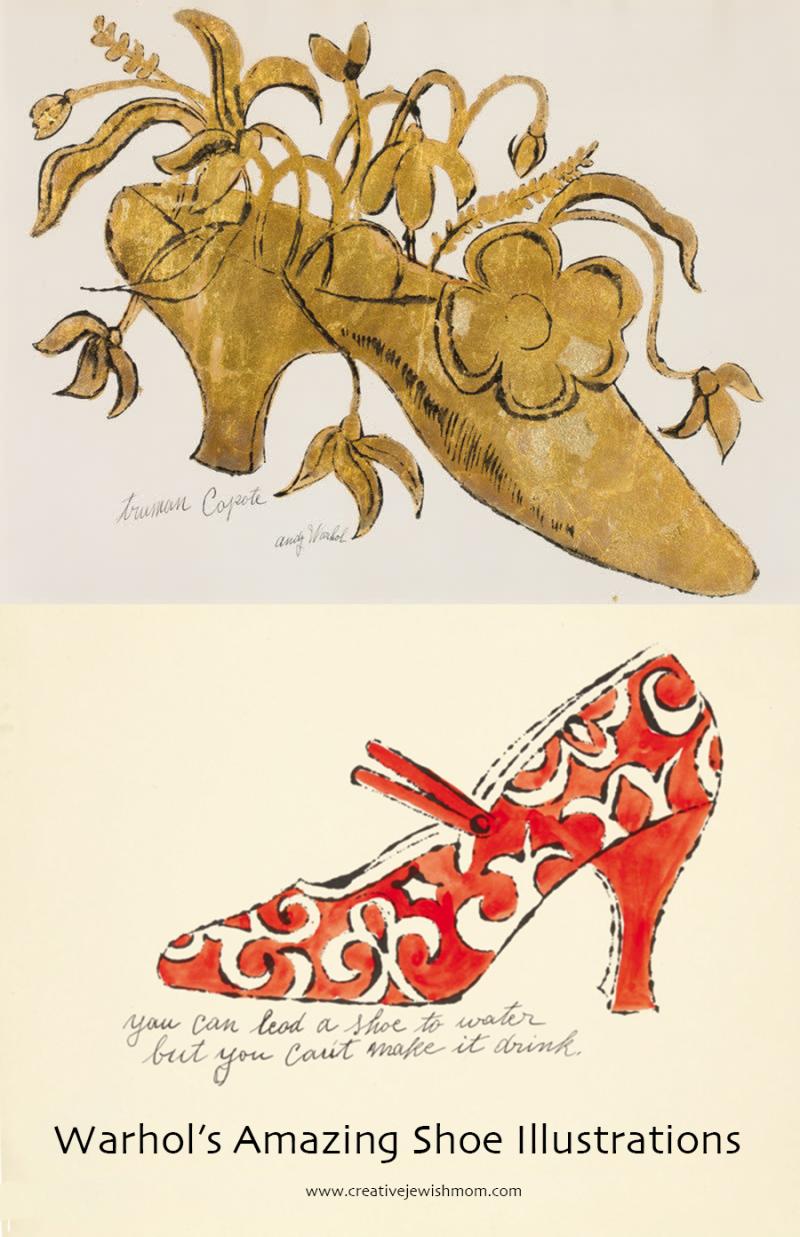 Andy-Warhol-shoe-illustrations