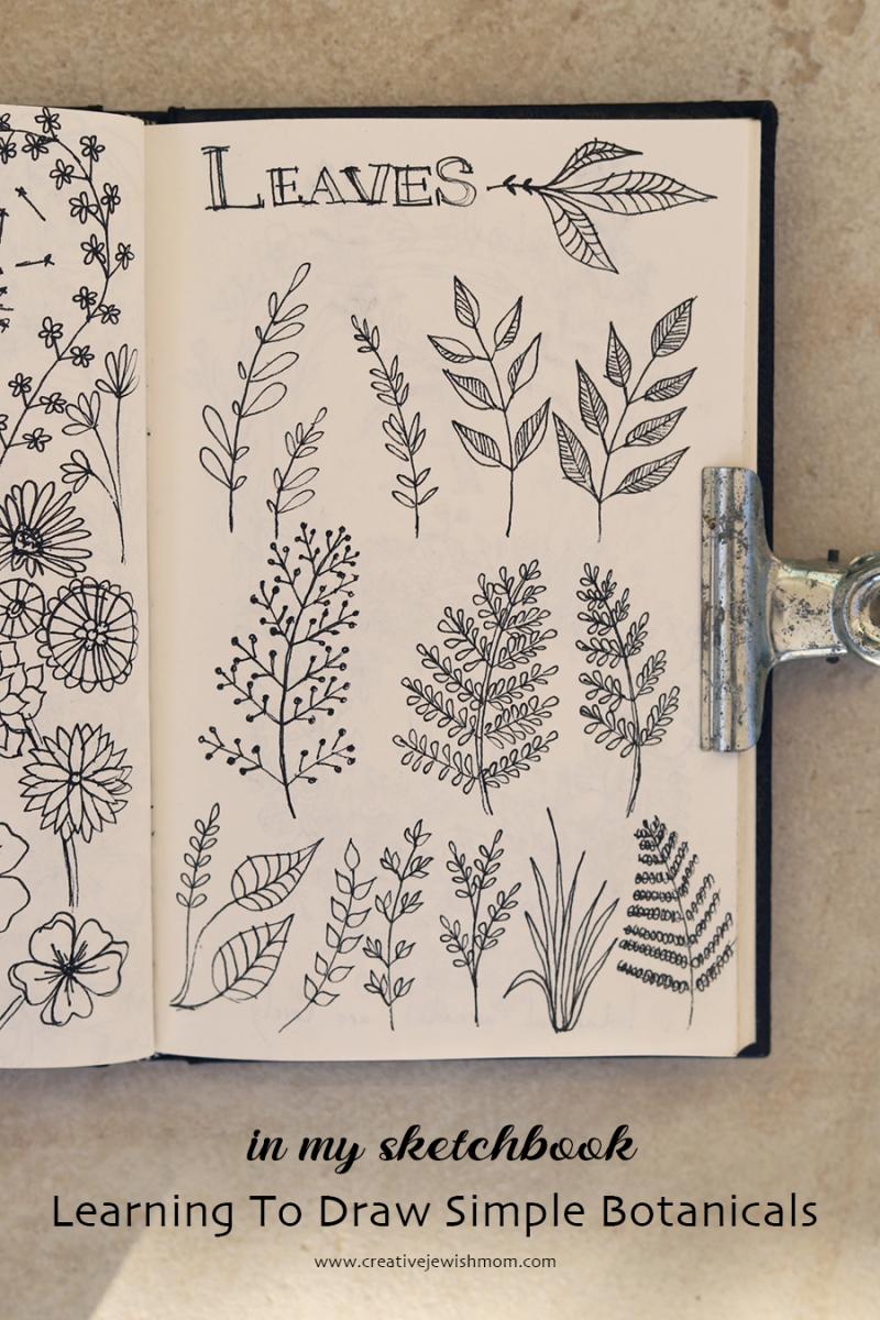 Sketchbook-leaves