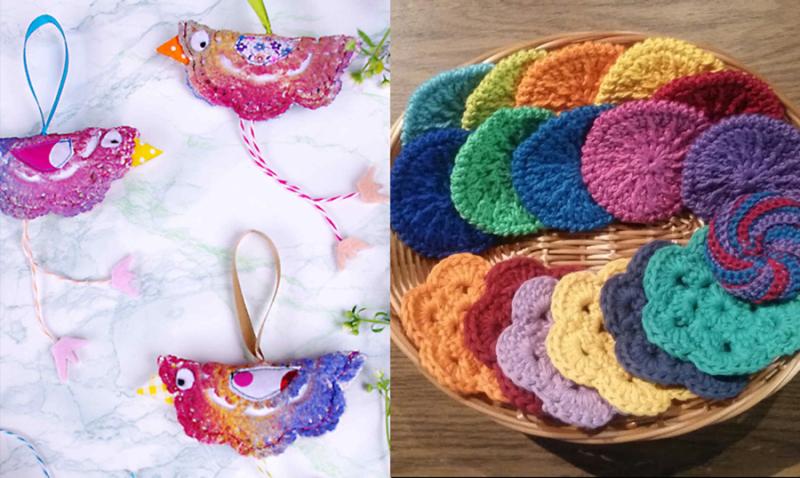 Crochet-doily-bird-crochet-face-scrubbies
