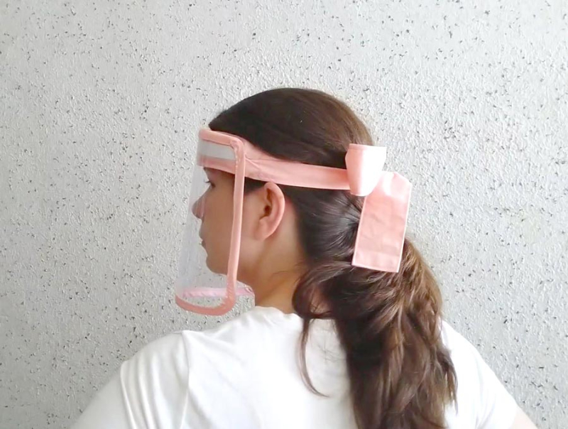 Diy-faceshield-sideview