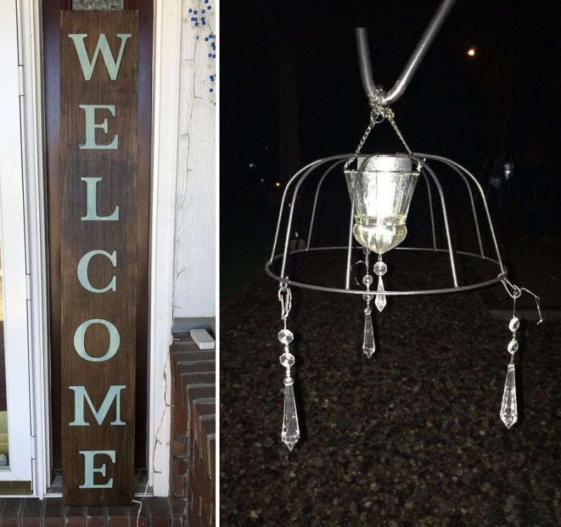 DIY-garden-chandelier-from-flower-basket