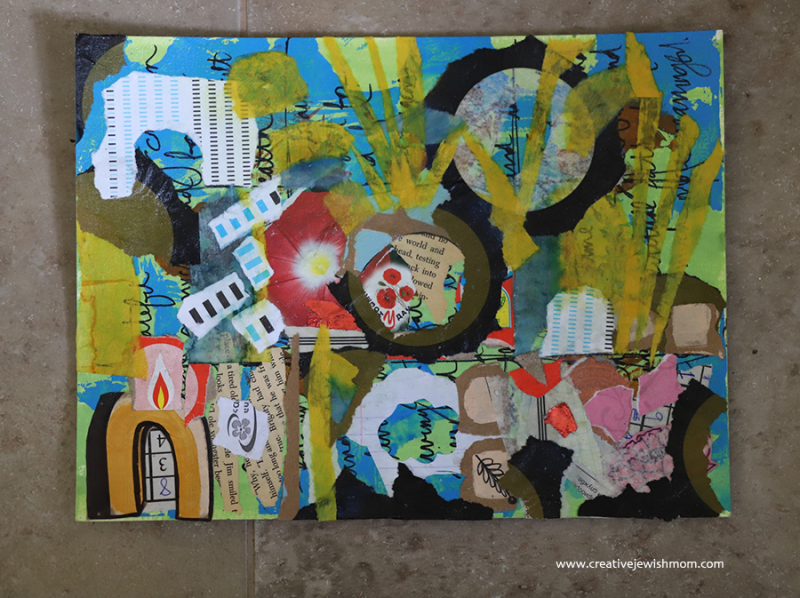 Collage-craft-for-Tisha-bav