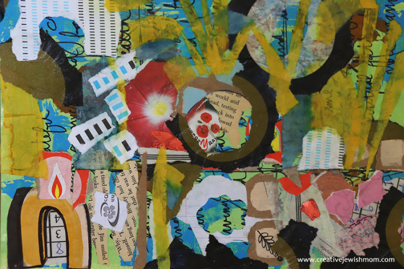 Collage-art-therapy