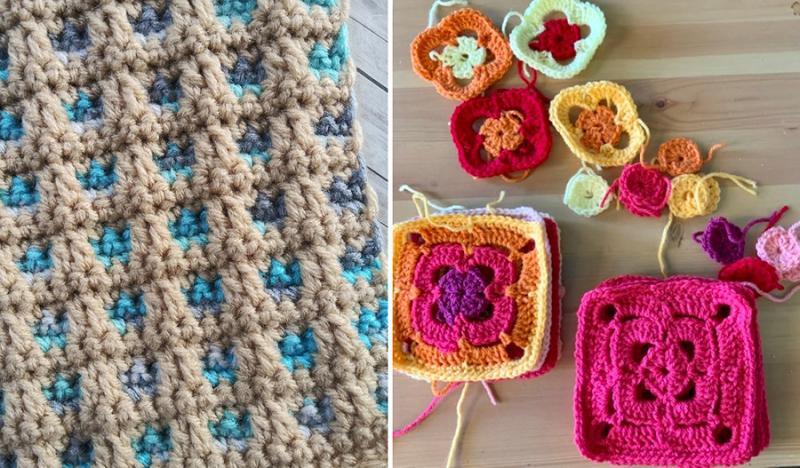Crochet-blanket-for-charity window-pane-crochet-stitch