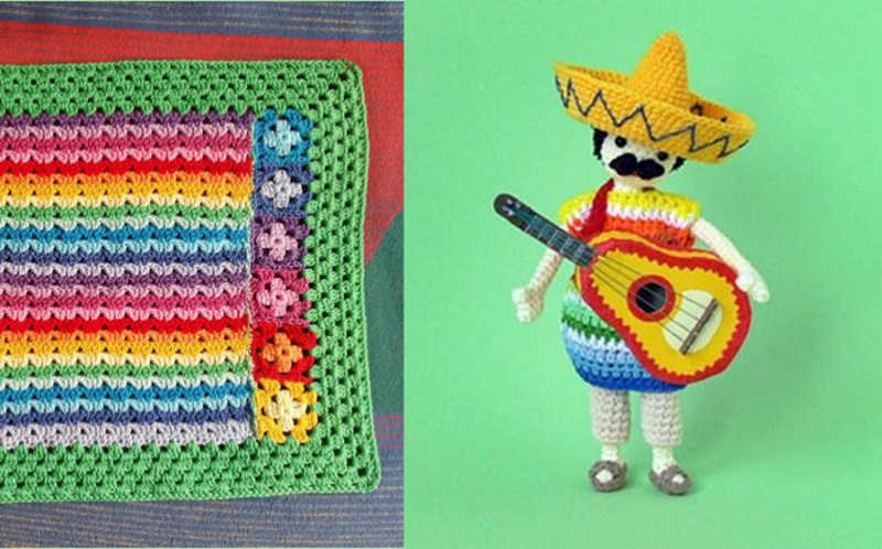 Crochet-mariachi-doll-with-guitar