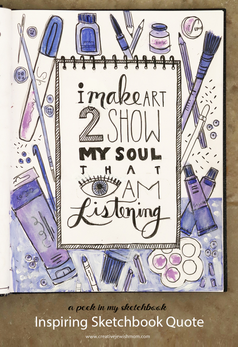 Art-quote-sketchbook