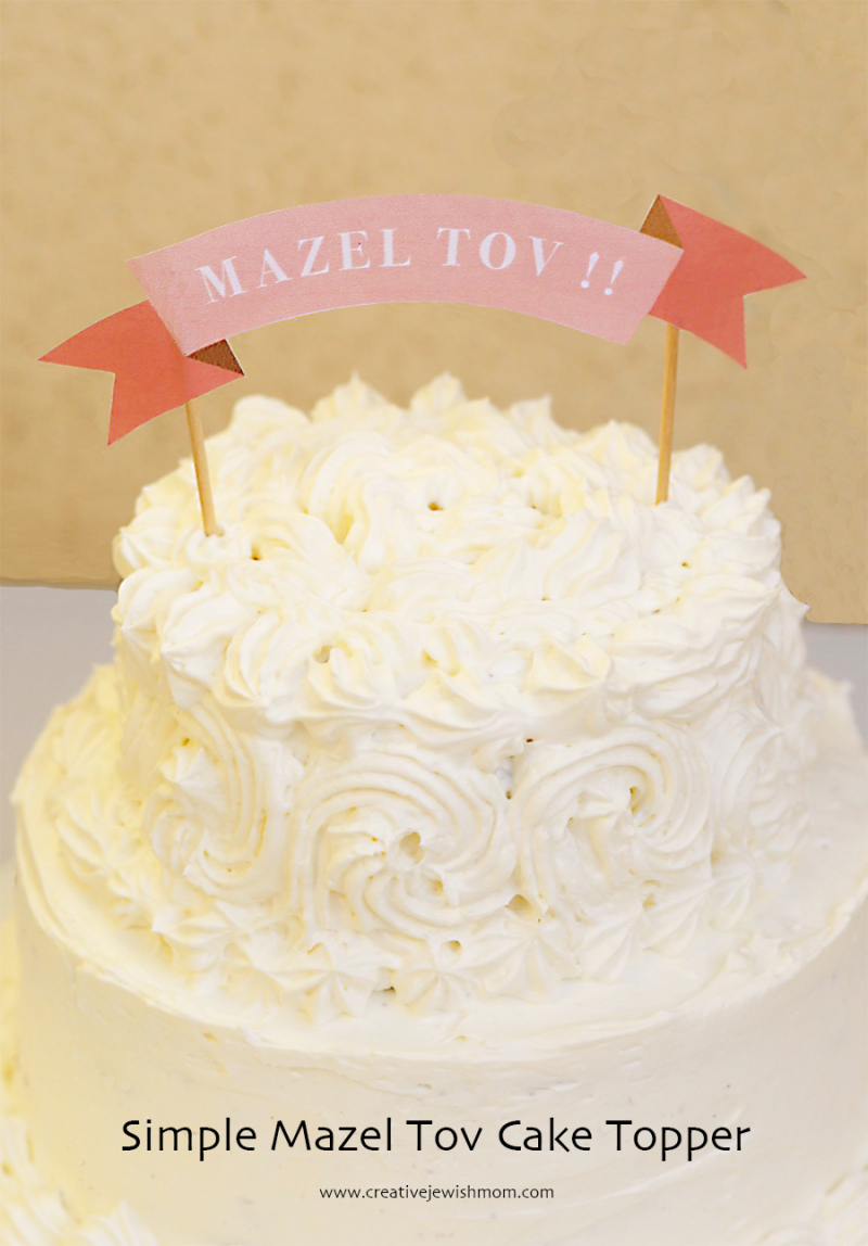 Creative Jewish Mom Birthday Cakes Simple And Cute