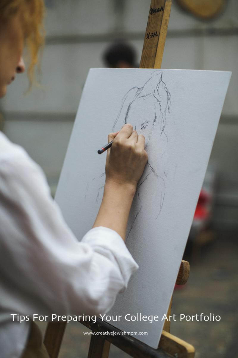 College art portfolio tips