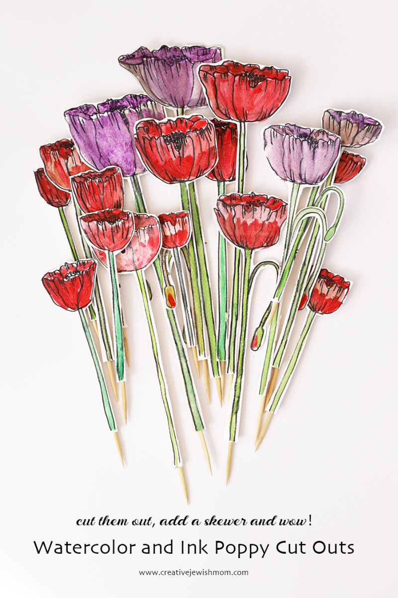 Watercolor-poppy-cutouts-for-crafts