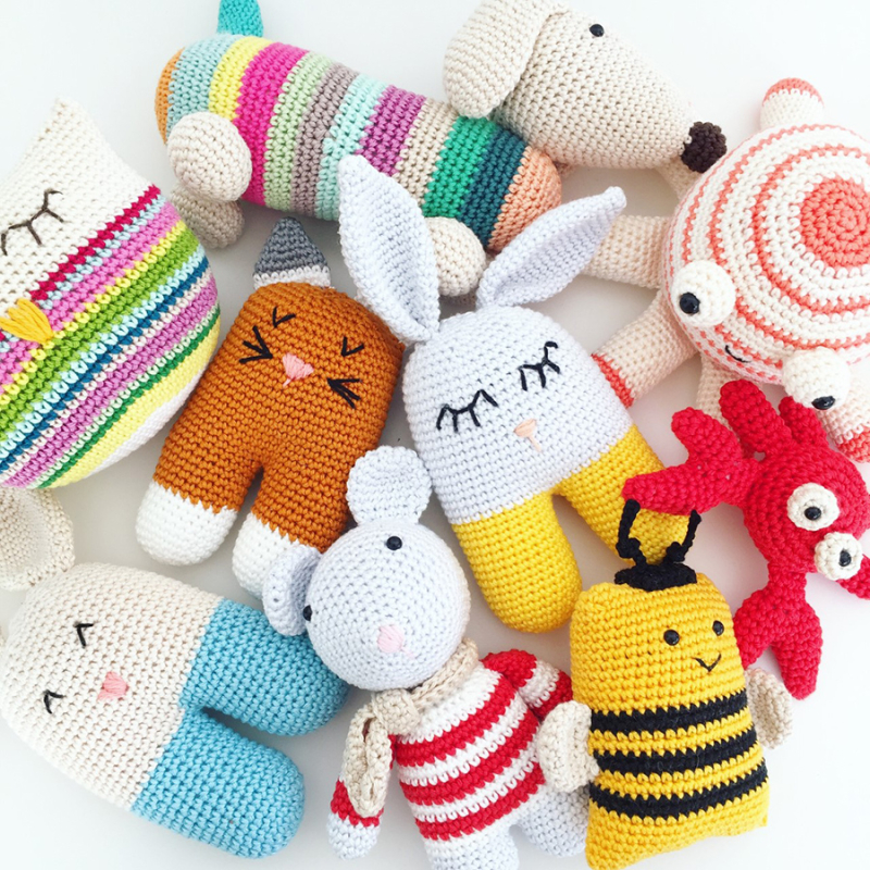 Crochet-cute-baby-toys