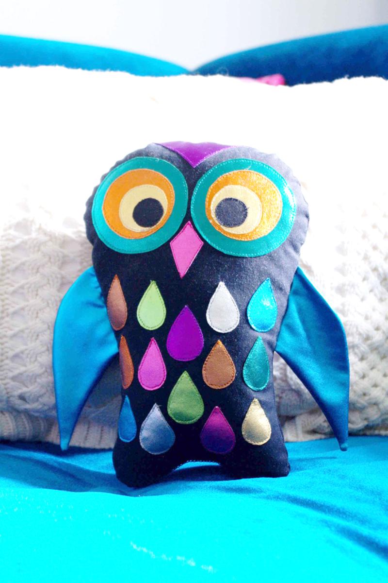DIY-stuffed-owl