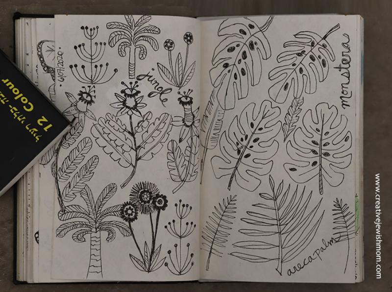 Jungle-plants-doodle