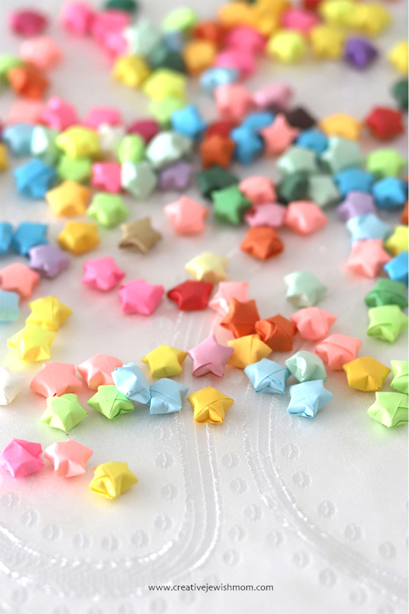 Lucky-origami-stars