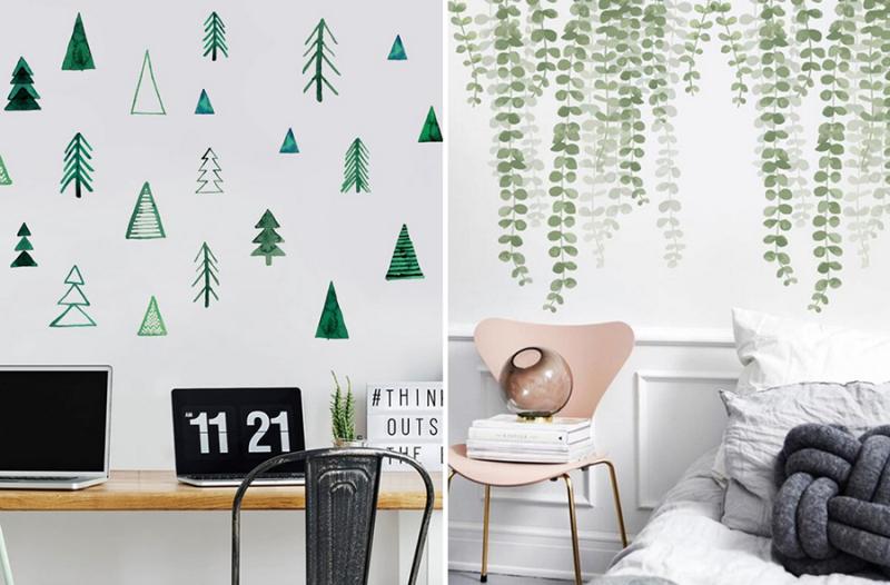 Botanical-wall-stickers
